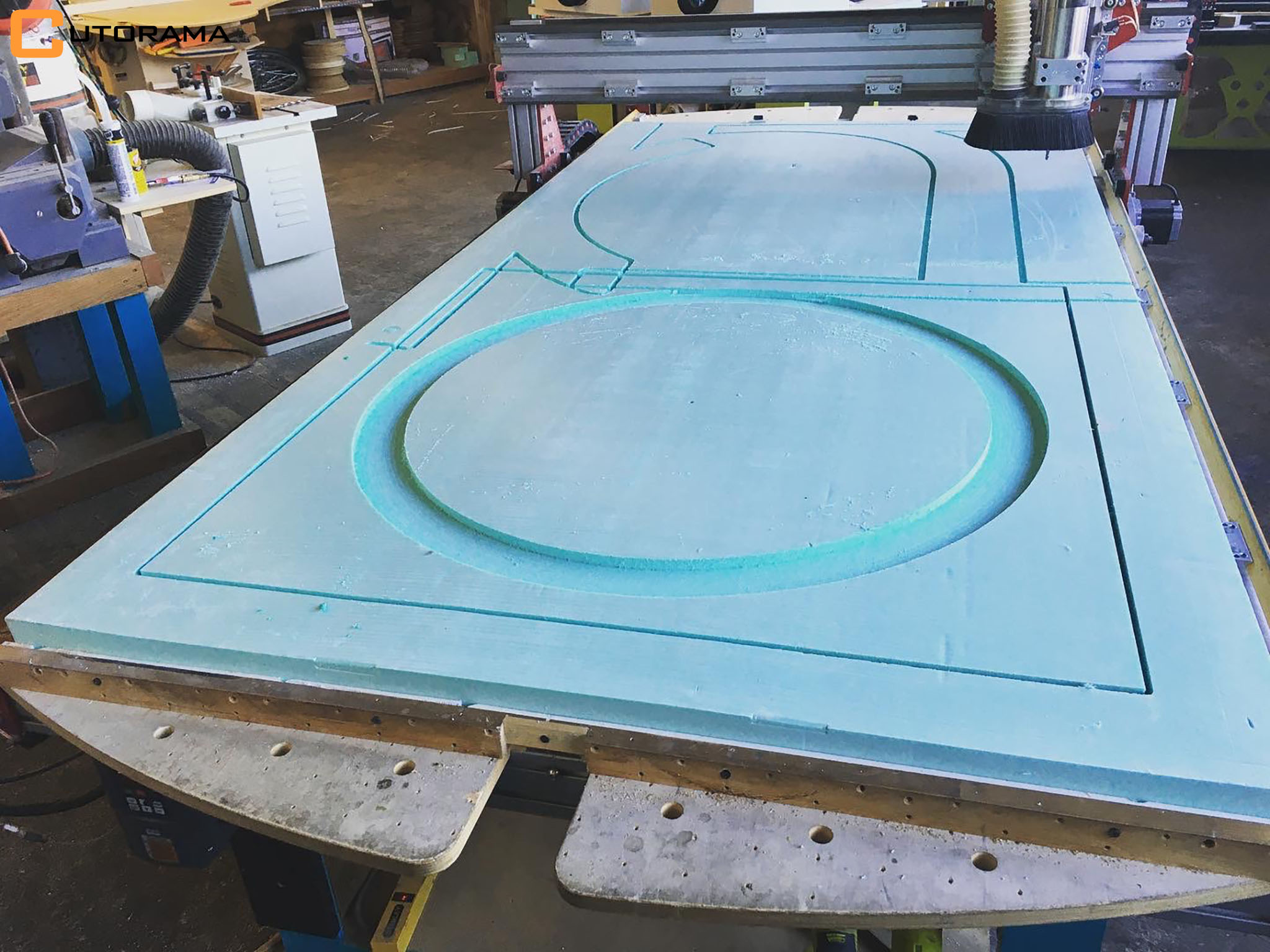 CNC Routing Foam - EPX - XPS